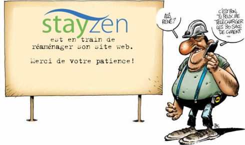 travaux  site stayzen